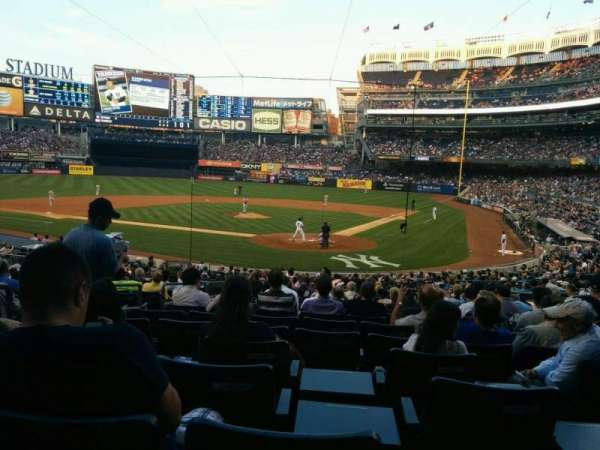 Yankee Stadium, section: 121a, row: 26, seat: 8