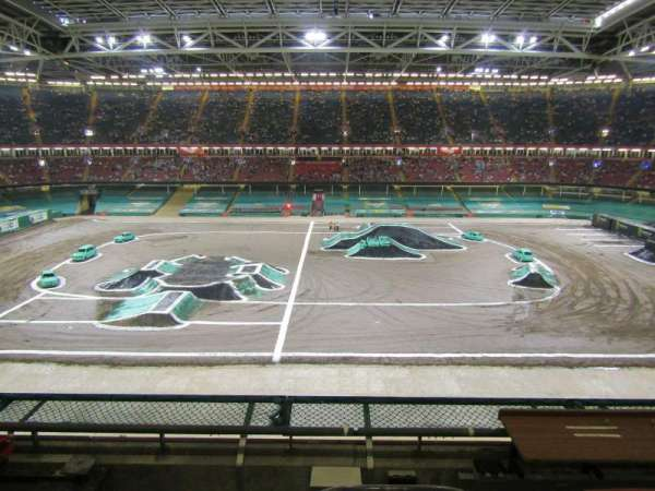 Principality Stadium, section: U30, row: 4, seat: 22