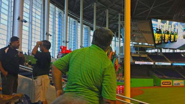 Marlins Park, section: 28, row: 20, seat: 7
