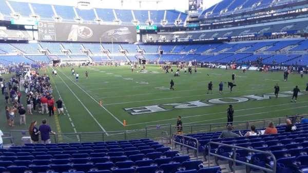 M T Bank Stadium Section 144 Home Of Baltimore Ravens