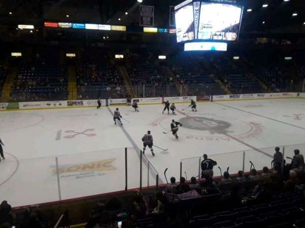 Santander Arena, section: 118, row: M, seat: 14