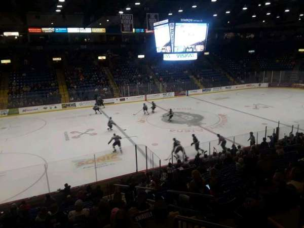 Santander Arena, section: 119, row: s, seat: 6