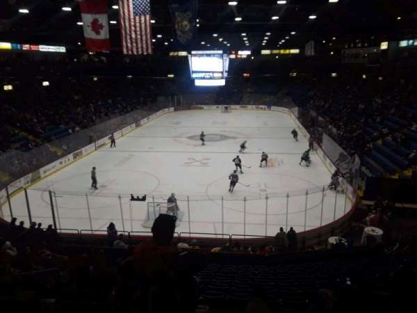 Santander Arena, section: 122, row: V, seat: 20