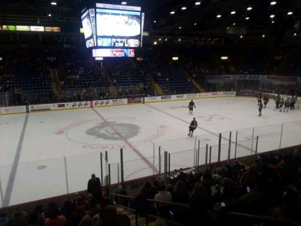 Santander Arena, section: 106, row: P, seat: 1