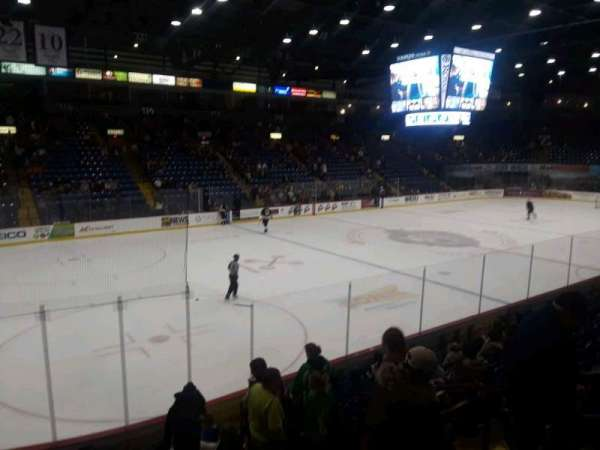 Santander Arena, section: 108, row: L, seat: 5