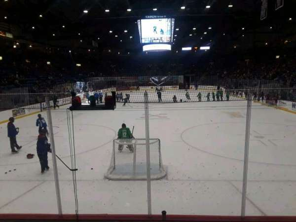 Santander Arena, section: 111, row: F, seat: 4