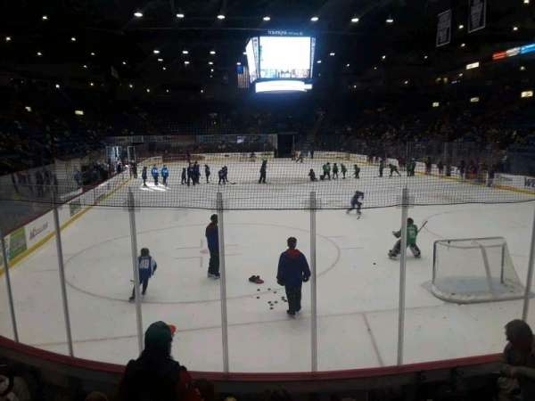 Santander Arena, section: 112, row: G, seat: 4