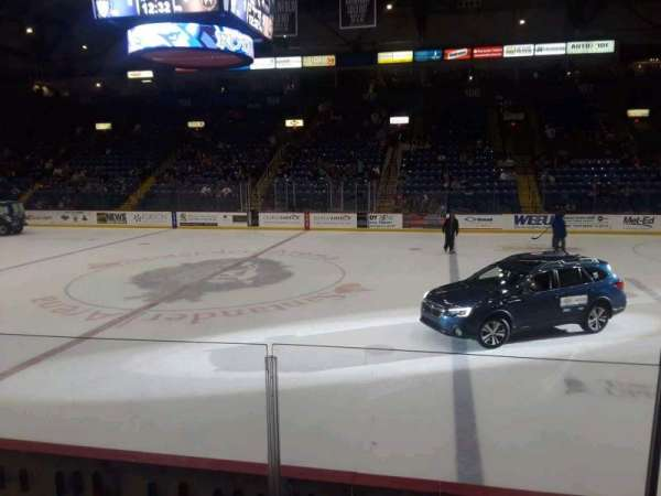 Santander Arena, section: 116, row: F, seat: 9