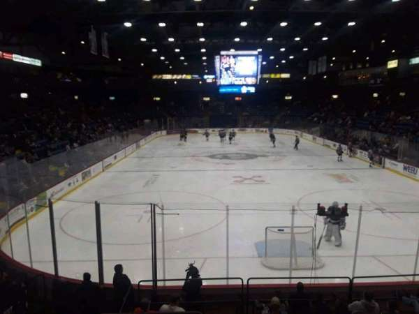 Santander Arena, section: 123, row: M, seat: 13