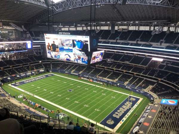 AT&T Stadium, section: 406, row: 25, seat: 17