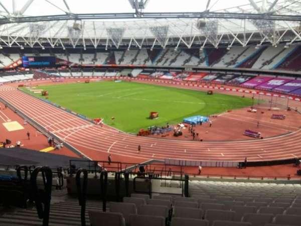 London Stadium, section: 216, row: 51, seat: 175-177
