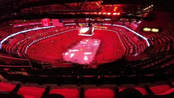 Little Caesars Arena, section: 217, row: 12