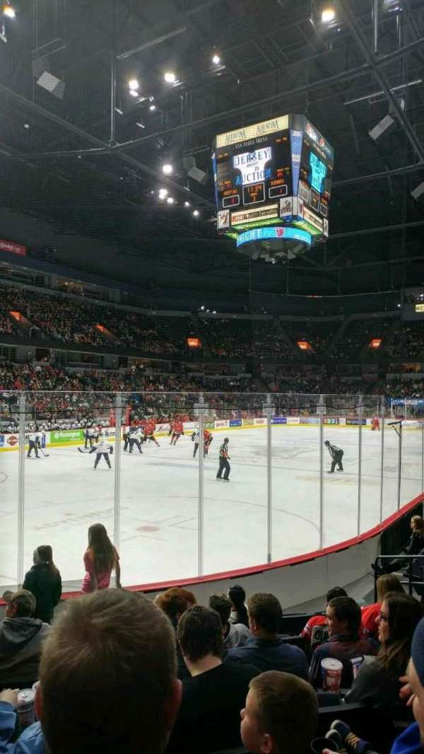 Van Andel Arena, section: 112, row: G, seat: 11