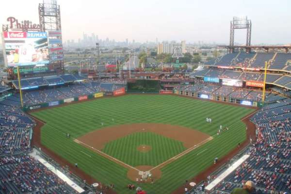 Citizens Bank Park, section: 421, row: 14