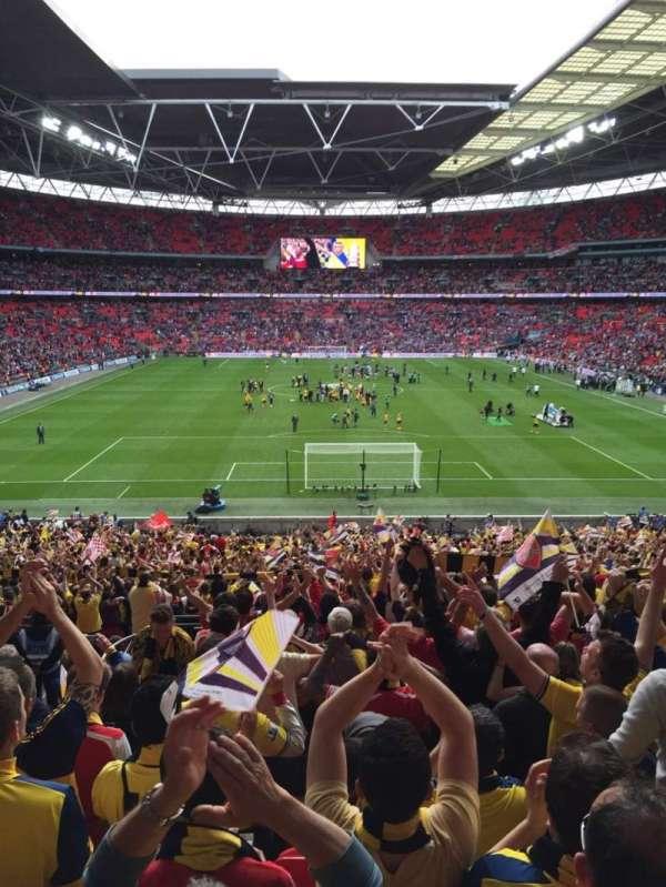 Wembley Stadium, section: 112, row: 43, seat: 7