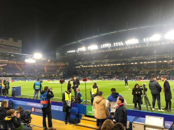 Stamford Bridge, section: East Stand Lower 6, row: H, seat: 173