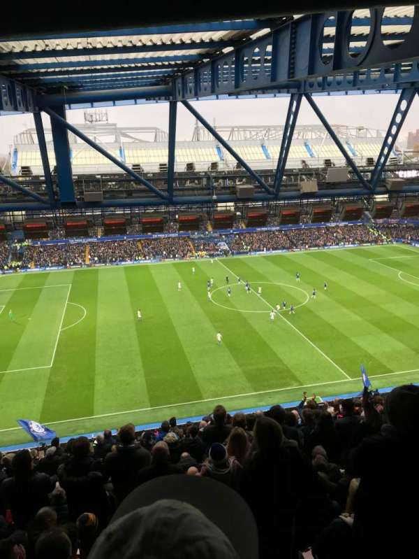 Stamford Bridge, section: West Stand Upper, row: 19, seat: 168