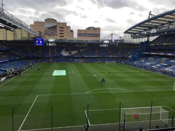 Stamford Bridge, section: Matthew Harding Upper 13, row: G, seat: 109
