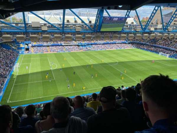 Stamford Bridge, section: West Stand Upper 8, row: 19, seat: 195