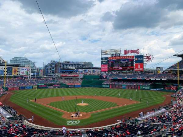 Nationals Park, section: 214, row: A, seat: 5