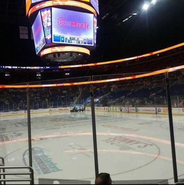 Amway Center, section: 102, row: 10, seat: 13