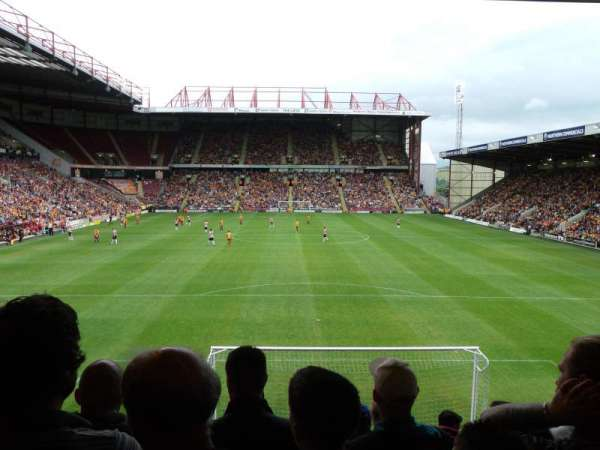 Valley Parade, section: UH, row: T, seat: 47