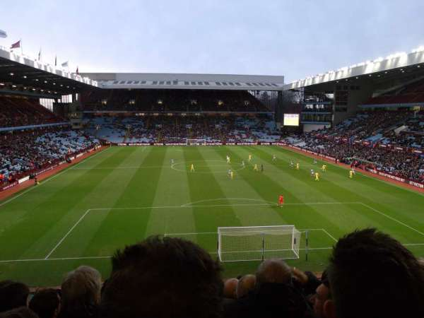 Villa Park, section: T3, row: L, seat: 83