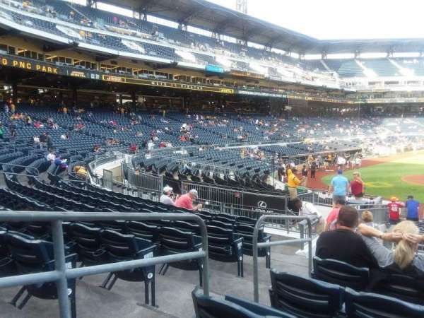 PNC Park, section: 113, row: J, seat: 16