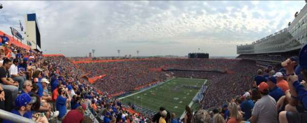 Ben Hill Griffin Stadium, section: 320, row: 29, seat: 5