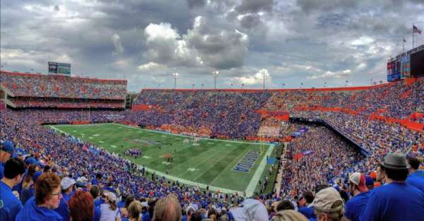 Ben Hill Griffin Stadium, section: 1, row: 73, seat: 29