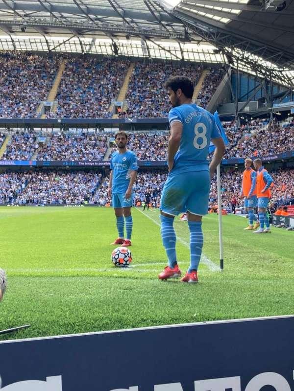 Etihad Stadium (Manchester), section: 134, row: 2, seat: 934