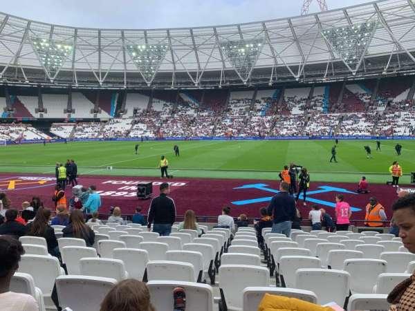 London Stadium, section: 110, row: 12 , seat: 278