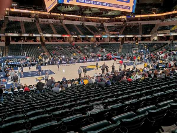 Bankers Life Fieldhouse, section: 17, row: 2, seat: 17