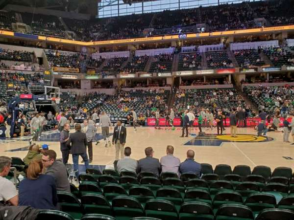 Bankers Life Fieldhouse, section: 16, row: 9, seat: 15