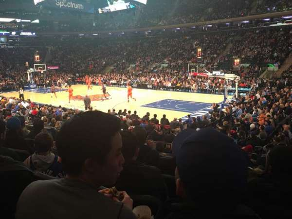 Madison Square Garden: Madison Square Garden, Section 109, Home Of New York