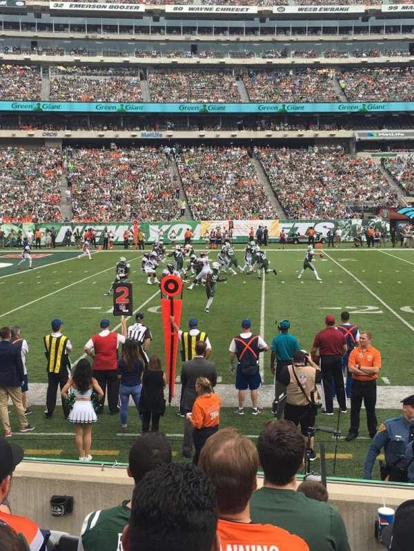 MetLife Stadium, section: 142, row: 6, seat: 20