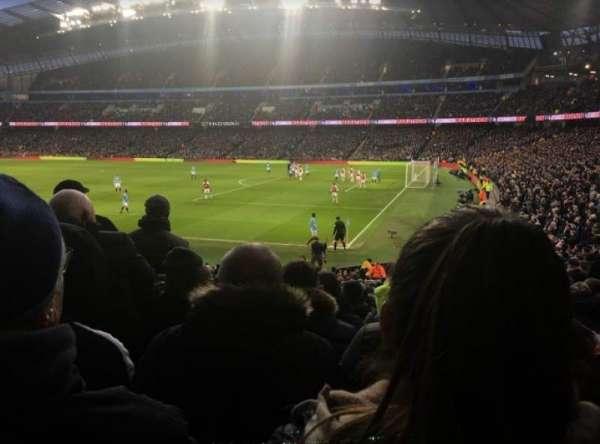 Etihad Stadium (Manchester), section: 121, row: z, seat: 581