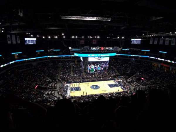 Target Center, section: 232, row: S, seat: 14