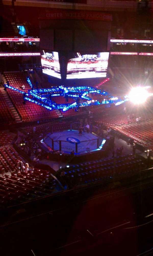 Wells Fargo Center, section: 211, row: 3, seat: 10