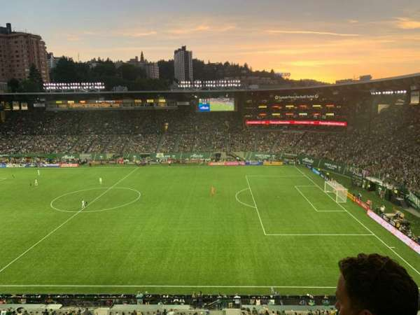 Providence Park, section: ET8, row: B, seat: 3