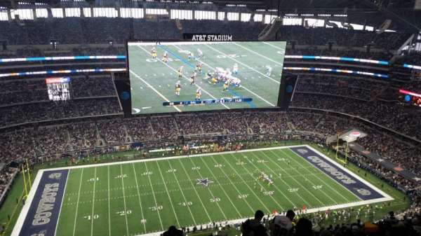 AT&T Stadium, section: 415, row: 29, seat: 2