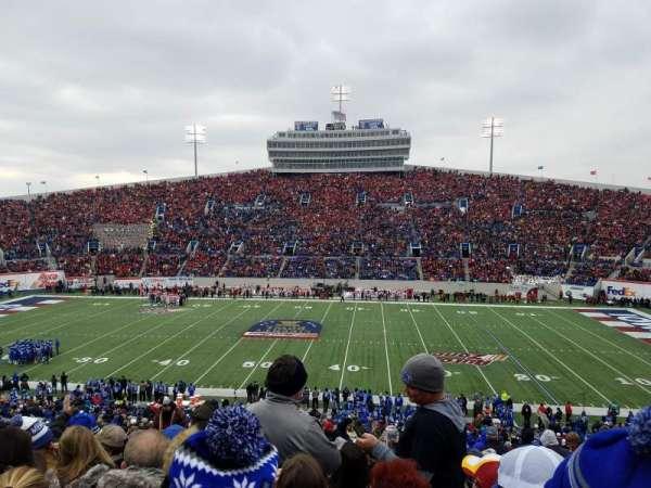 Liberty Bowl Memorial Stadium, section: 119, row: 50, seat: 27