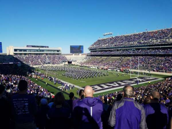 Bill Snyder Family Stadium, section: 11, row: 46, seat: 1