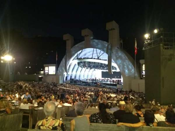 Hollywood Bowl, section: D, row: 16, seat: 6