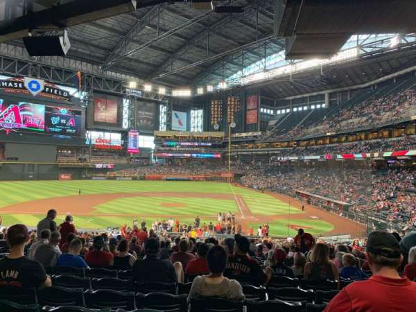 Chase Field, section: 126, row: 39, seat: 14