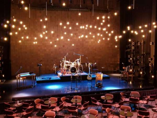 Jaeb Theater at The Straz , section: Mezzanine, row: G, seat: 17