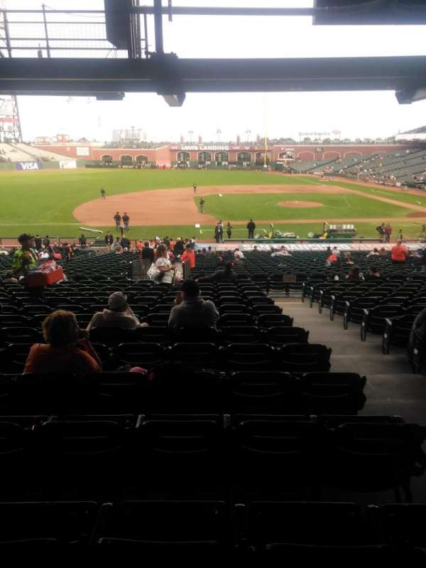 AT&T Park, section: LB124, row: 36, seat: 3