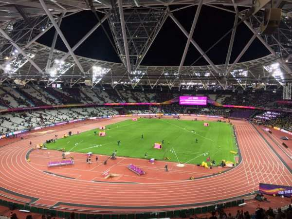 London Stadium, section: 253, row: 56, seat: 789