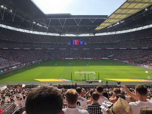 Wembley Stadium, section: 112, row: 38, seat: 8