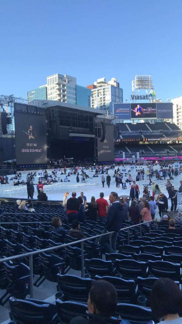 Petco Park, section: 118, row: 19, seat: 8